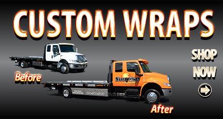 Vehicle Custom Vinyl Wraps