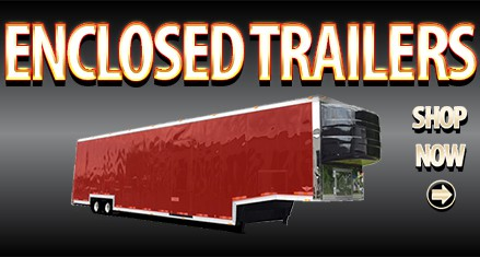 Shop Enclosed Car Hauler Trailers